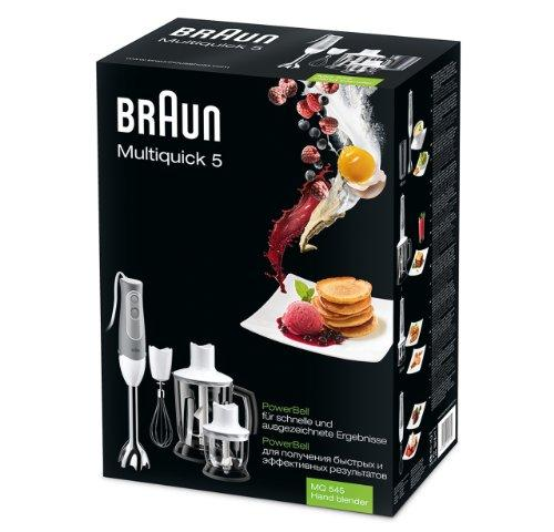 Braun MQ545 Multiquick 5 Hand Blender with Chopper & Grinder, 220V (European Cord) Kitchen & Dining Braun