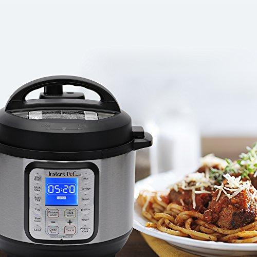 DUO Plus 3 Qt 9-in-1 Multi- Use Programmable Pressure Cooker, Slow Cooker, Rice Cooker, Yogurt Maker, Egg Cooker, Sauté, Steamer, Warmer, and Sterilizer Kitchen & Dining Instant Pot