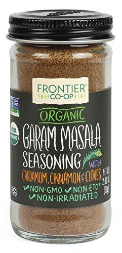 Garam Masala Certified Organic, Salt Free Blend, 2-Ounce Bottle