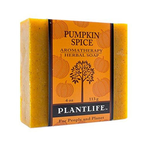 Pumpkin Spice 100% Pure & Natural Aromatherapy Herbal Soap- 4 oz (113g)