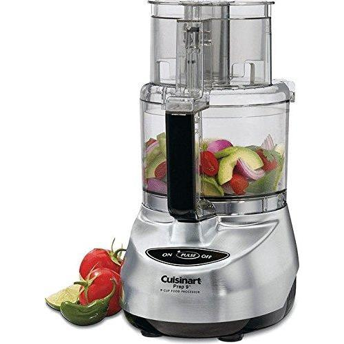 Cuisinart DLC-2009CHBMY Prep 9 9-Cup Food Processor, Brushed Stainless Kitchen & Dining Cuisinart