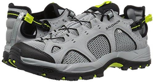Salomon Men's Techamphibian 3 Trail Running Shoe, Quarry, 9 M US