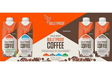 Bulletproof Coffee Cold Brew Ready To Drink- Ketogenic Diet, Sugar-Free, Includes Grass-Fed Butter and Brain Octane Oil, Vanilla (12 Pack)