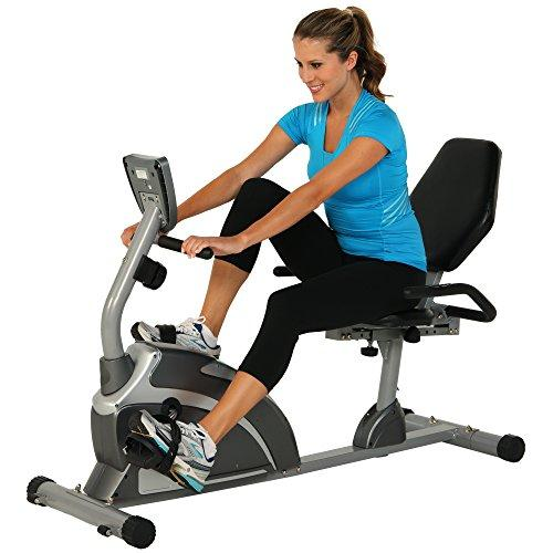 Exerpeutic 1111 900XL Extended Capacity Recumbent Bike with Pulse Sport & Recreation Exerpeutic
