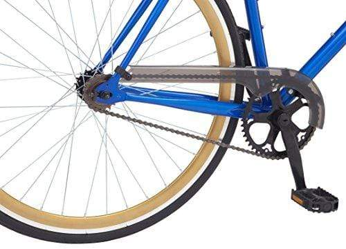 Schwinn Kedzie Single-Speed Fixie Road Bike, Lightweight Frame for City Riding, Blue Outdoors Schwinn