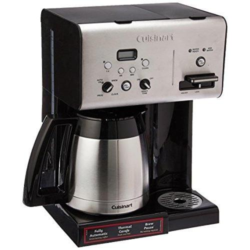 CHW-14 Coffee Plus 10-Cup Thermal Programmable Coffeemaker and Hot Water System Kitchen & Dining Cuisinart