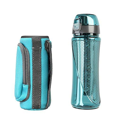 pH REVIVE Alkaline Water Filter Bottle & Carry Case Accessory Invigorated Water