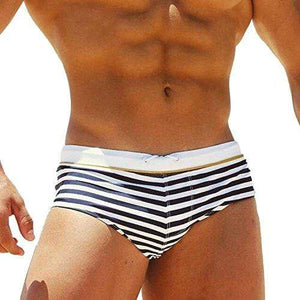 Taddlee Sexy Swimwear Mens Swimsuits Swimming Surf Board Boxer Briefs Bikini Gay (XL)