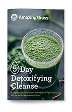 Amazing Grass Green Superfood 5 Day Detoxifying Cleanse Kit, Detox & Digest, 45 Servings, 12.6oz with Shaker Cup, 1 Billion Probiotics, Organic Greens, Organic Turmeric