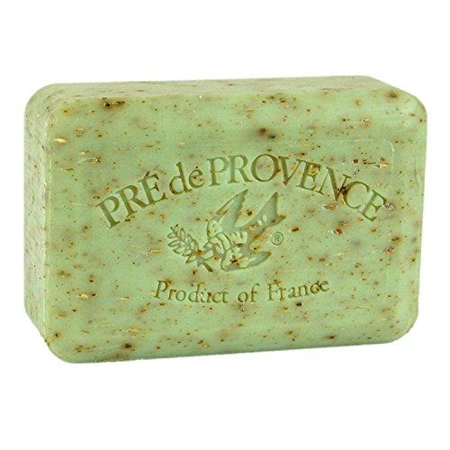 Pre de Provence Artisanal French Soap Bar Enriched with Shea Butter, Quad-Milled For A Smooth & Rich Lather (250 grams) - Sage