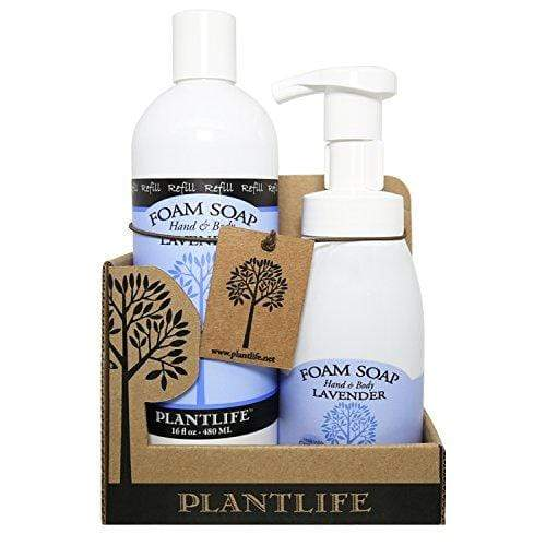 Value Set Lavender Foam Soap