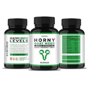 Extra Strength Horny Goat Weed Extract Supplement Havasu Nutrition