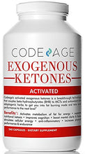Codeage Exogenous Ketones Capsules - 240 Count - Keto Diet Supplement with BHB Salts as Exogenous Ketones, Electrolytes and Caffeine