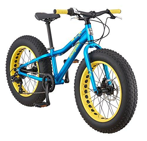 "Mongoose Boys Argus Fat Tire Bicycle 20"" Wheel, Teal Sport & Recreation Mongoose"