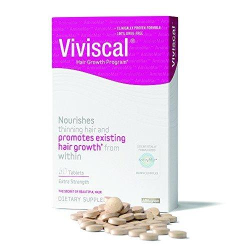 Extra Strength Hair Nutrient Tablets Supplement Viviscal
