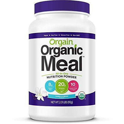 Orgain Organic Plant Based Meal Replacement Powder Supplement Orgain