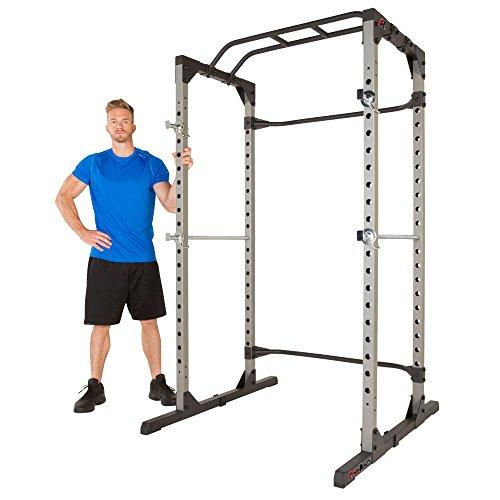 Fitness Reality 810XLT Super Max Power Cage with 800lbs Weight Capacity Sport & Recreation Fitness Reality