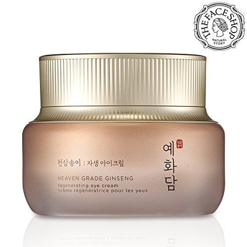 The Face Shop Yehwadam Heaven Grade Ginseng Regenerating Eye Cream, Premium Skin Care, Traditional Korean Herbs And Ginseng For Anti-Aging, Wrinkle Care Treatment (25mL/0.85 Oz)