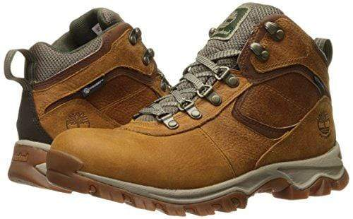 Timberland Men's Mt. Maddsen Mid Leather Wp Hiking Boot, Light Brown Full Grain, 11 Medium US