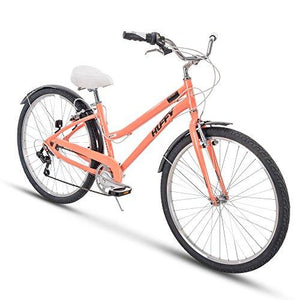 Huffy Comfort Cruiser Hybrid Bike, 7-Speeds with Aluminum Frame, Hyde Park