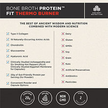 Ancient Nutrition Bone Broth Protein FIT Thermo Burner, 180 Capsules — Energy, Fitness and Hormone Health