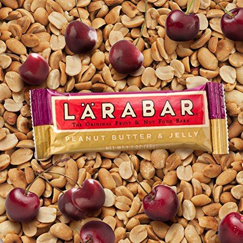 Larabar Gluten Free Bar, Peanut Butter & Jelly, 1.7 oz Bars (16 Count) Food & Drink LÄRABAR