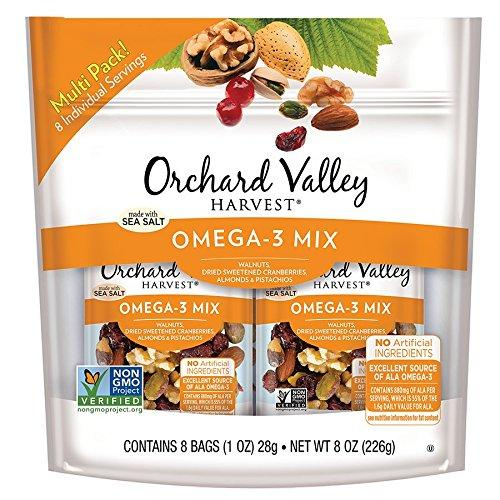 Omega-3 Mix Multi Pack, Non-GMO, No Artificial Ingredients Food & Drink Orchard Valley Harvest