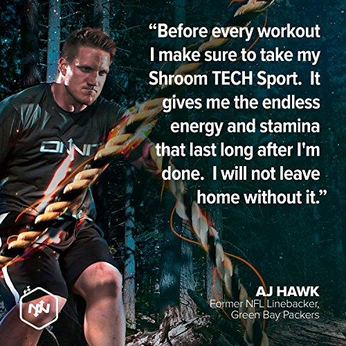 Shroom Tech Sport: Preworkout Supplement with Cordyceps Mushroom Supplement ONNIT