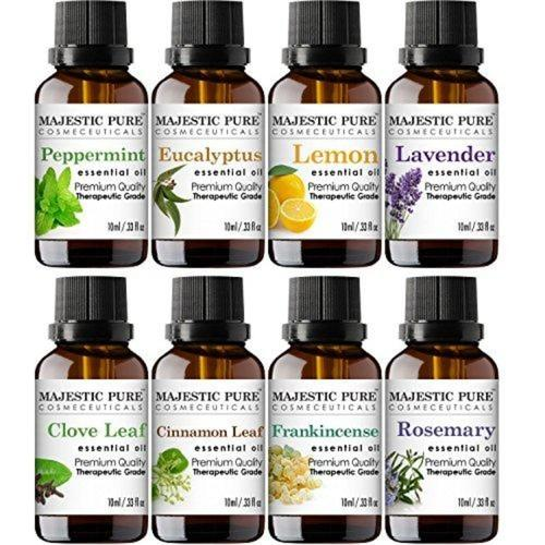 Aromatherapy Essential Premium Oils Set Beauty & Health Majestic Pure
