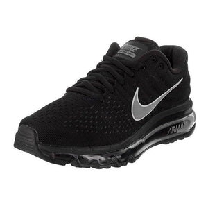 NIKE Womens Air Max 2017 Running Shoes Black/White/Anthracite 849560-001 Size 8