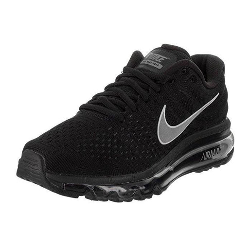 NIKE Womens Air Max 2017 Running Shoes Black/White/Anthracite 849560-001 Size 8 Shoes for Women NIKE