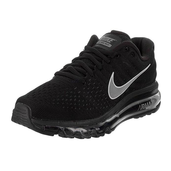 NIKE Womens Air Max 2017 Running Shoes BlackWhiteAnthracite 849560 001 Size 8