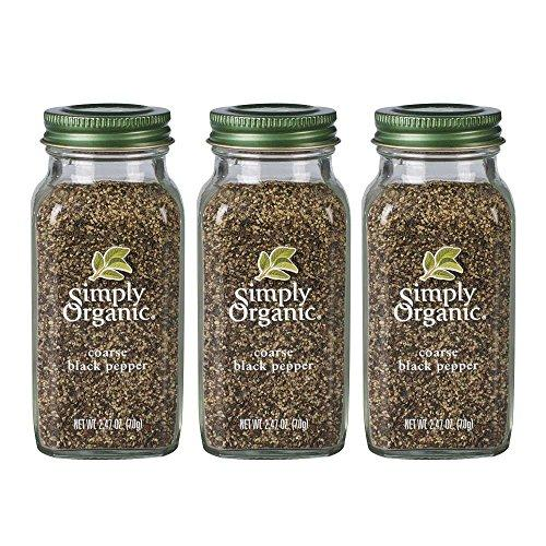 Simply Organic Coarse Black Pepper Food & Drink Simply Organic