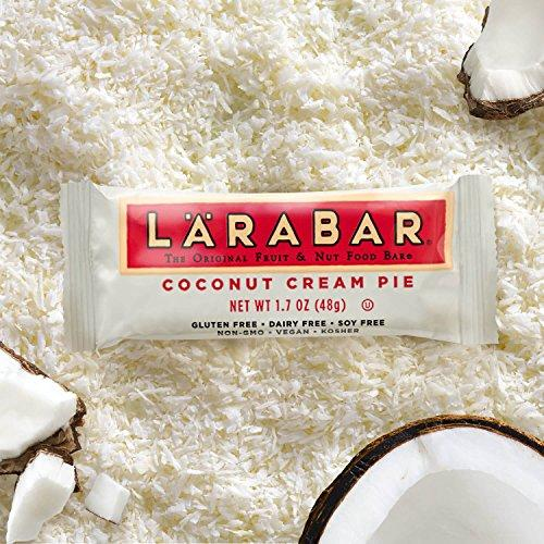 Fruit & Nut Bar, Coconut Cream Pie, Gluten Free, Vegan, Whole 30 Compliant, (16 Count) Food & Drink LÄRABAR