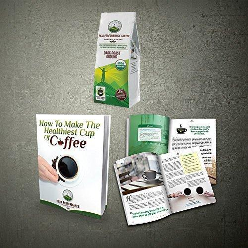 High Altitude Organic Coffee Food & Drink Peak Performance Coffee
