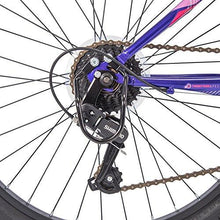 "Huffy 24"" Summit Ridge Womens 21-Speed Hardtail Mountain Bike, Purple Gloss"