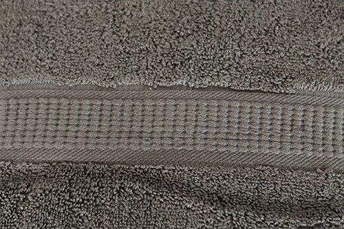 "Utopia Towels Luxury Combed Cotton Bath Towel 30""x56"" - Gray"