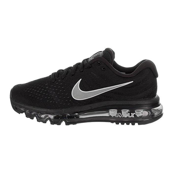 d3e894843a83 ... NIKE Womens Air Max 2017 Running Shoes Black White Anthracite 849560-001  Size