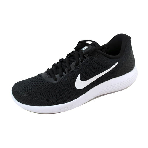 Nike Mens Lunarglide 8, Black / White - Anthracite, Size 10