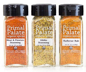 Organic Spices - Signature Blends 3-Bottle Gift Set