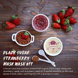 Black Sugar Strawberry Mask Wash Off