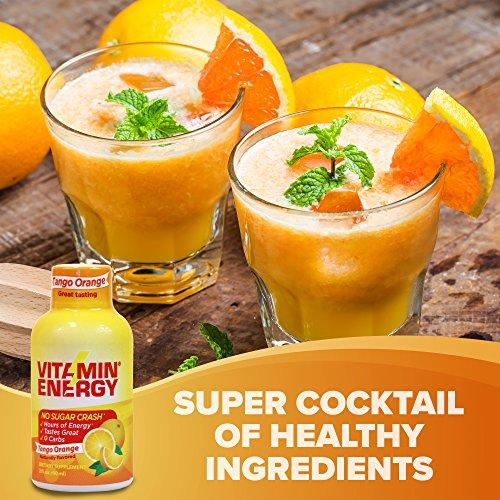 Vitamin Energy Shots – The Smart, Healthy Energy Drink that Supports Immune Health (12 pack) Food & Drink VitaminEnergy