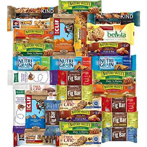 Healthy Bars Care Package (30 Count) Food & Drink Custom Varietea