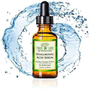 Hyaluronic Acid Serum for Skin Beauty & Health Tree of Life Beauty