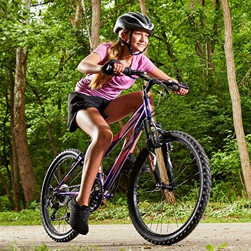 "Huffy 24"" Summit Ridge Womens 21-Speed Hardtail Mountain Bike, Purple Gloss Sport & Recreation Huffy"