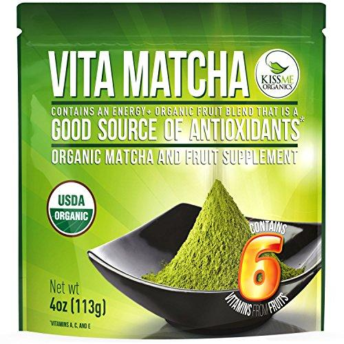 Vita Matcha - Organic Japanese Matcha Infused with 100% Natural Fruit Vitamins Food & Drink Kiss Me Organics