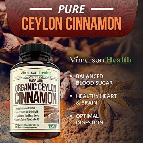 True Ceylon Cinnamon Supplement Vimerson Health