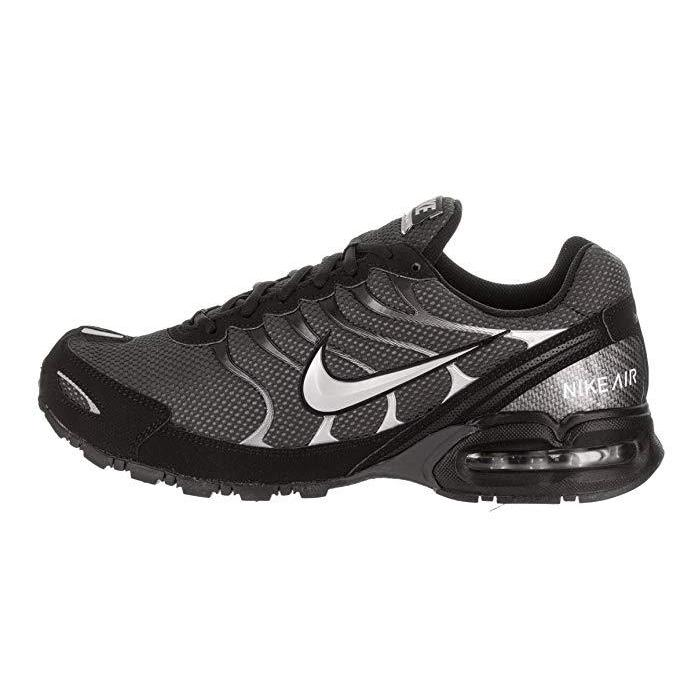 NIKE Mens Air Max Torch 4 Running Shoe Anthracite/Metallic Silver/Black Size 11 Shoes for Men NIKE