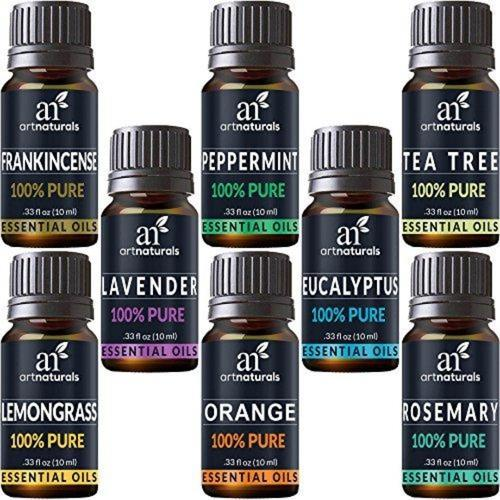Aromatherapy Top 8 Essential Oils