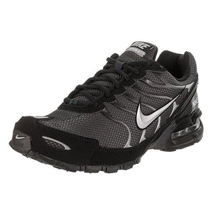 NIKE Mens Air Max Torch 4 Running Shoe Anthracite/Metallic Silver/Black Size 11